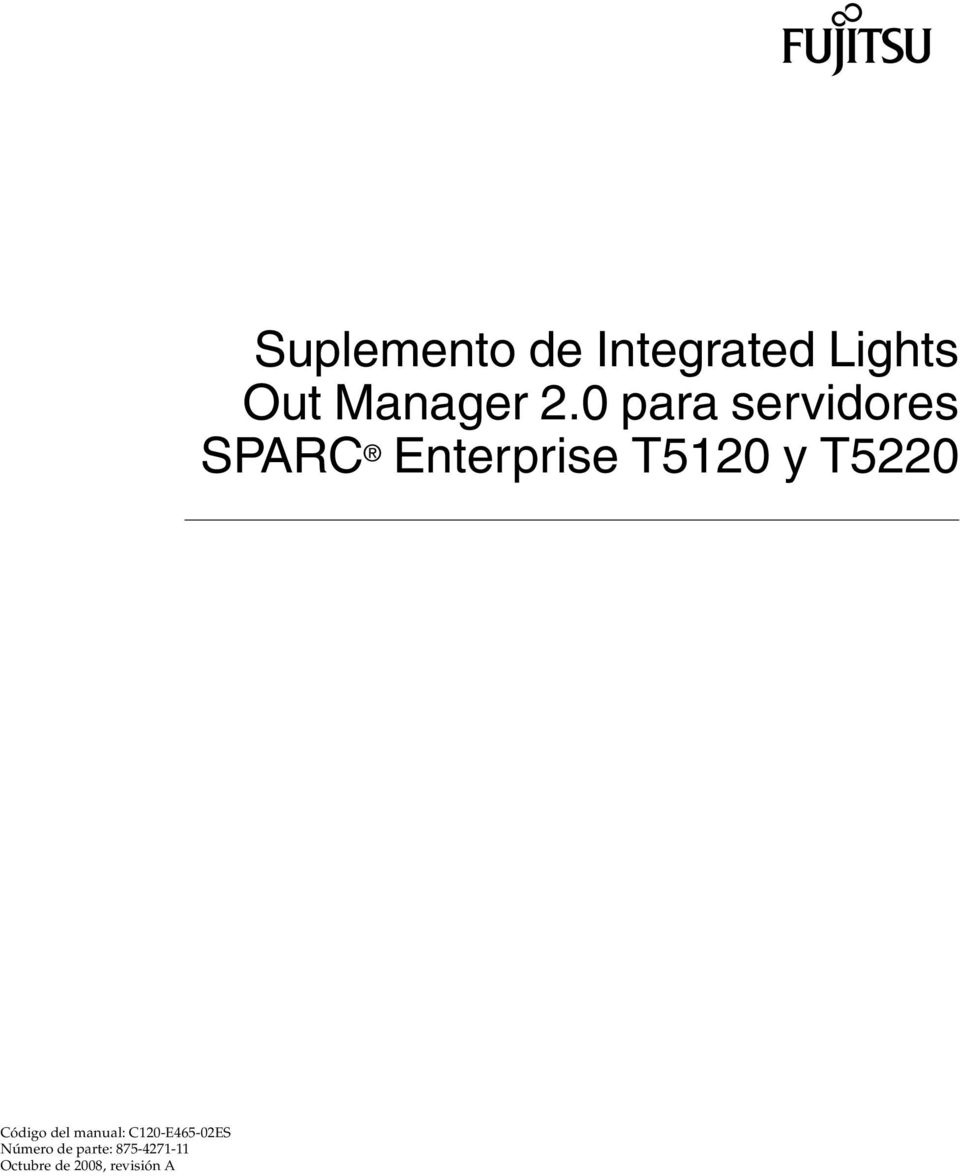 Suplemento de Integrated Lights Out Manager 2.