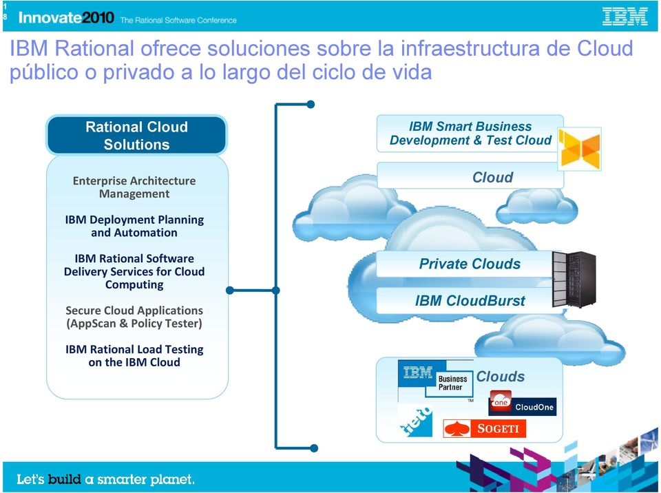 Cloud IBM Deployment Planning and Automation IBM Rational Software Delivery Services for Cloud Computing Secure