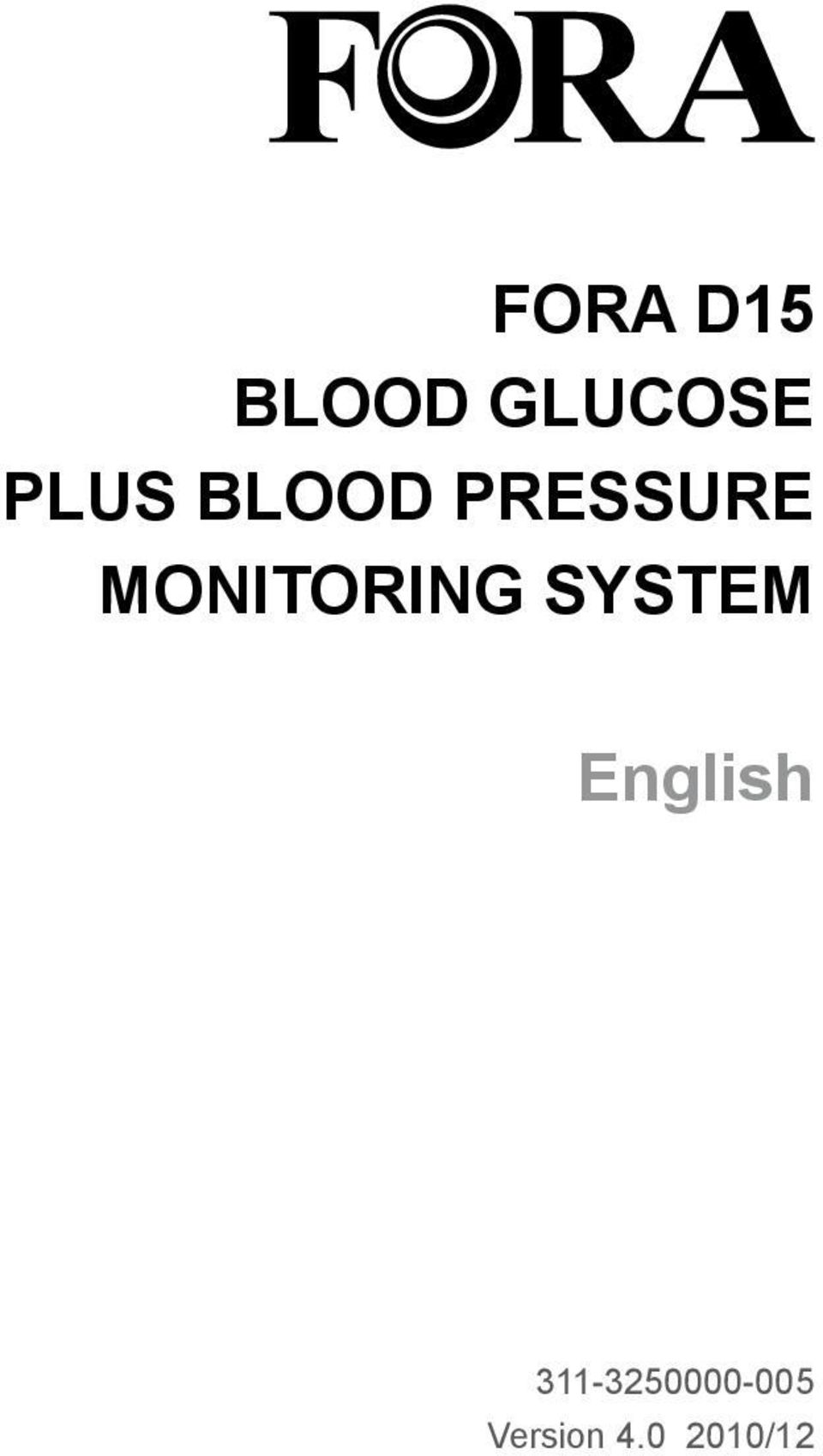 MONITORING SYSTEM English