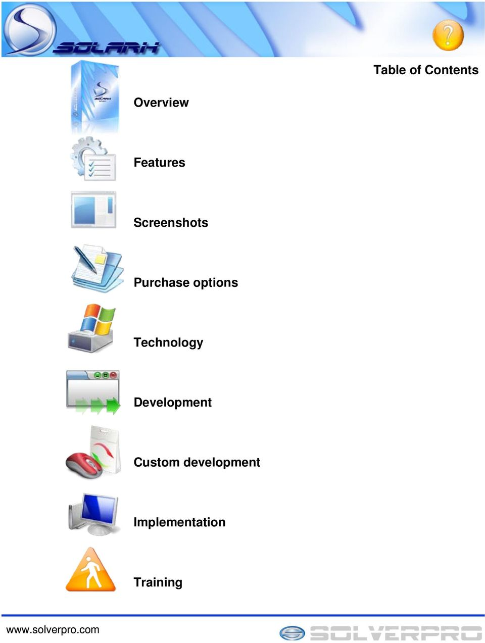 options Technology Development