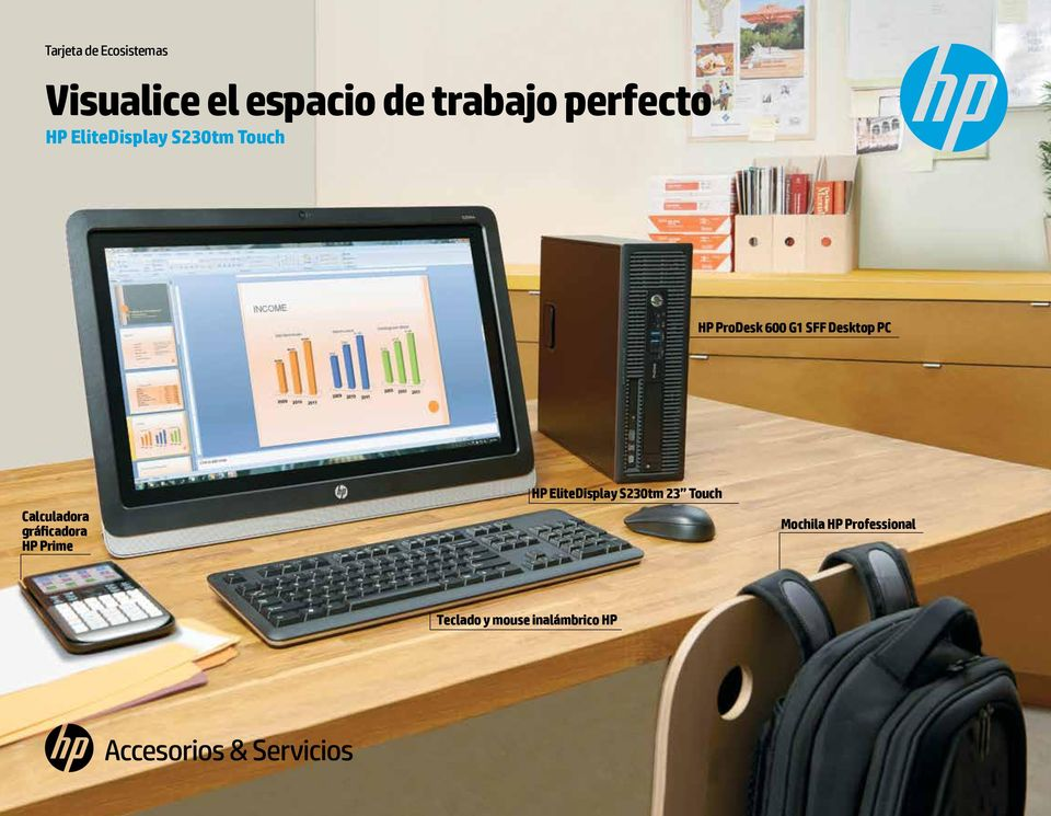 Desktop PC Calculadora gráficadora HP Prime HP EliteDisplay