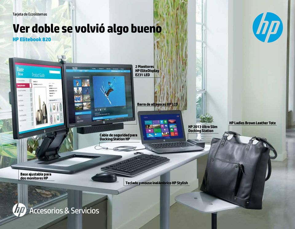 seguridad para Docking Station HP HP 2013 Ultra Slim Docking Station HP Ladies
