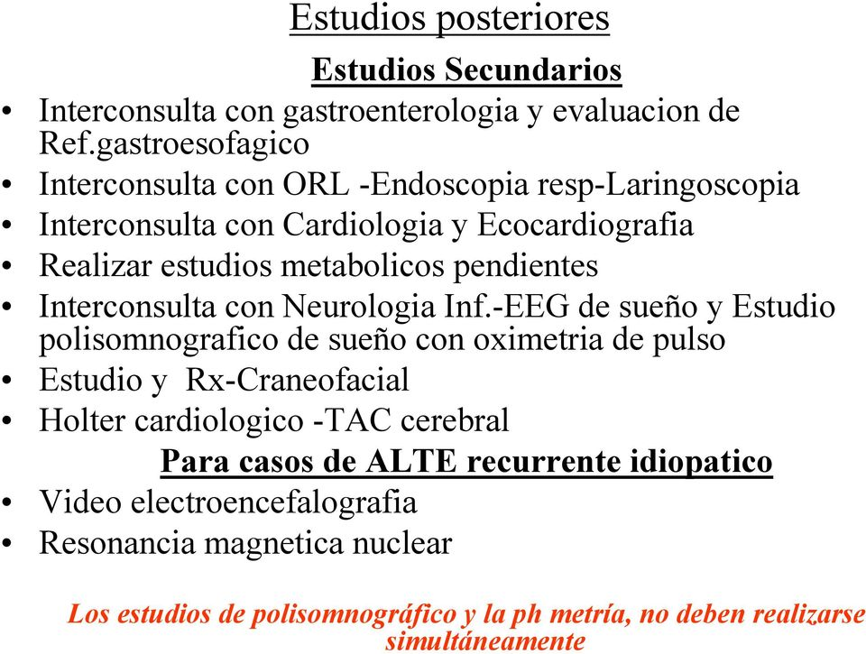 pendientes Interconsulta con Neurologia Inf.