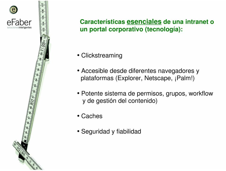plataformas (Explorer, Netscape, Palm!