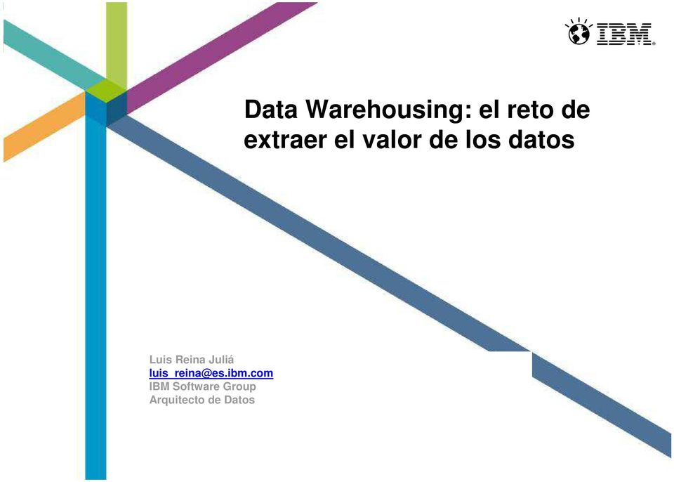 Arquitecto de Datos Data