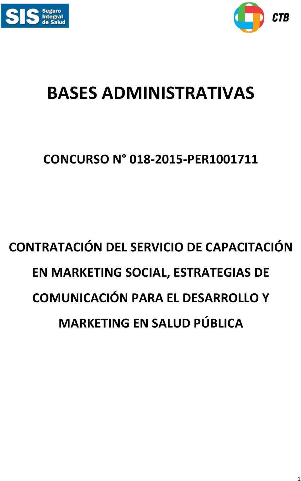 CAPACITACIÓN EN MARKETING SOCIAL, ESTRATEGIAS DE