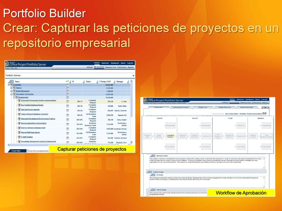 repositorio empresarial Capturar