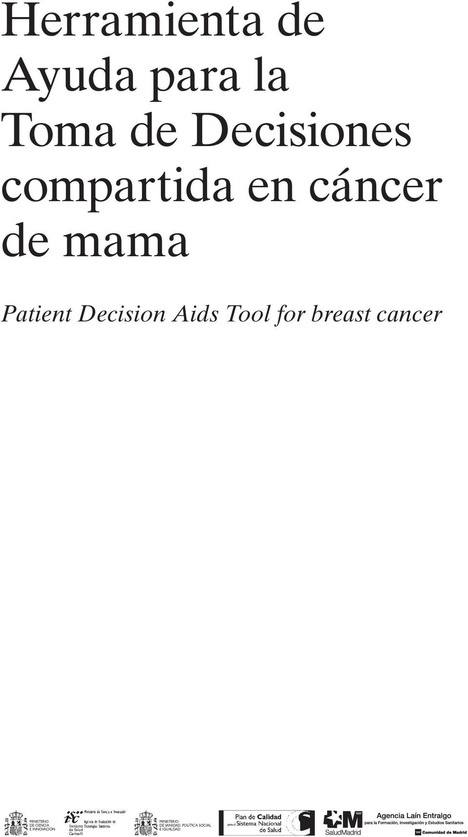PatientDecisionAidsToolforbreastcancer DE