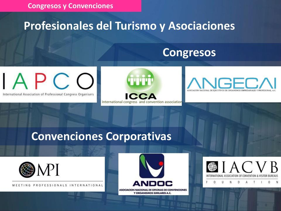 Asociaciones Congresos International