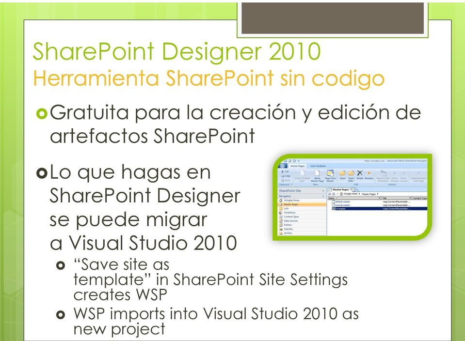 Studio 2010 Save site as template in SharePoint Site