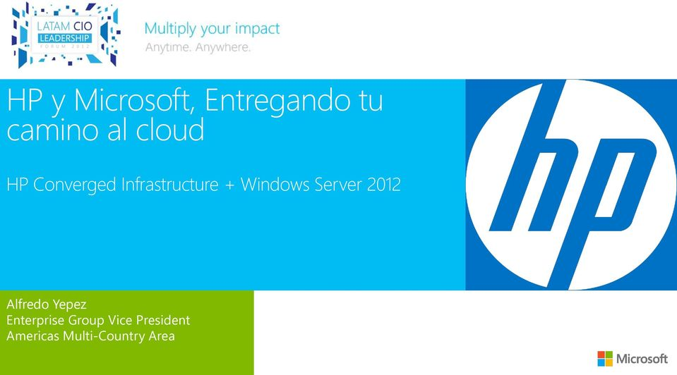 Windows Server 2012 Alfredo Yepez