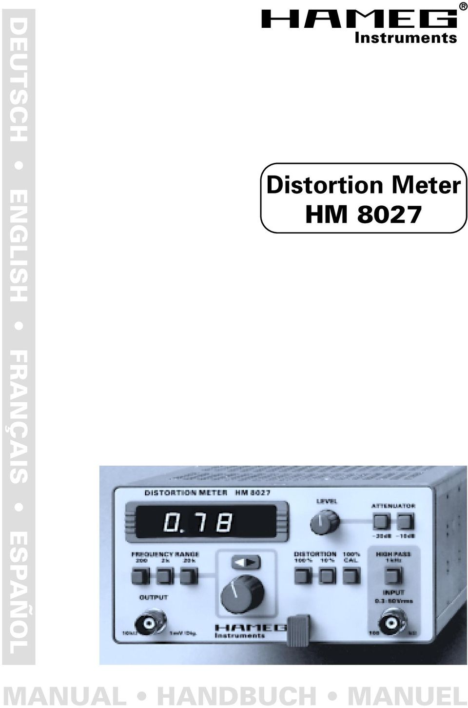 Instruments Distortion