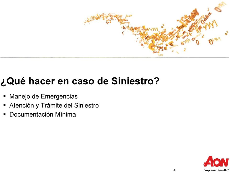 Siniestro Proprietary & Confidential