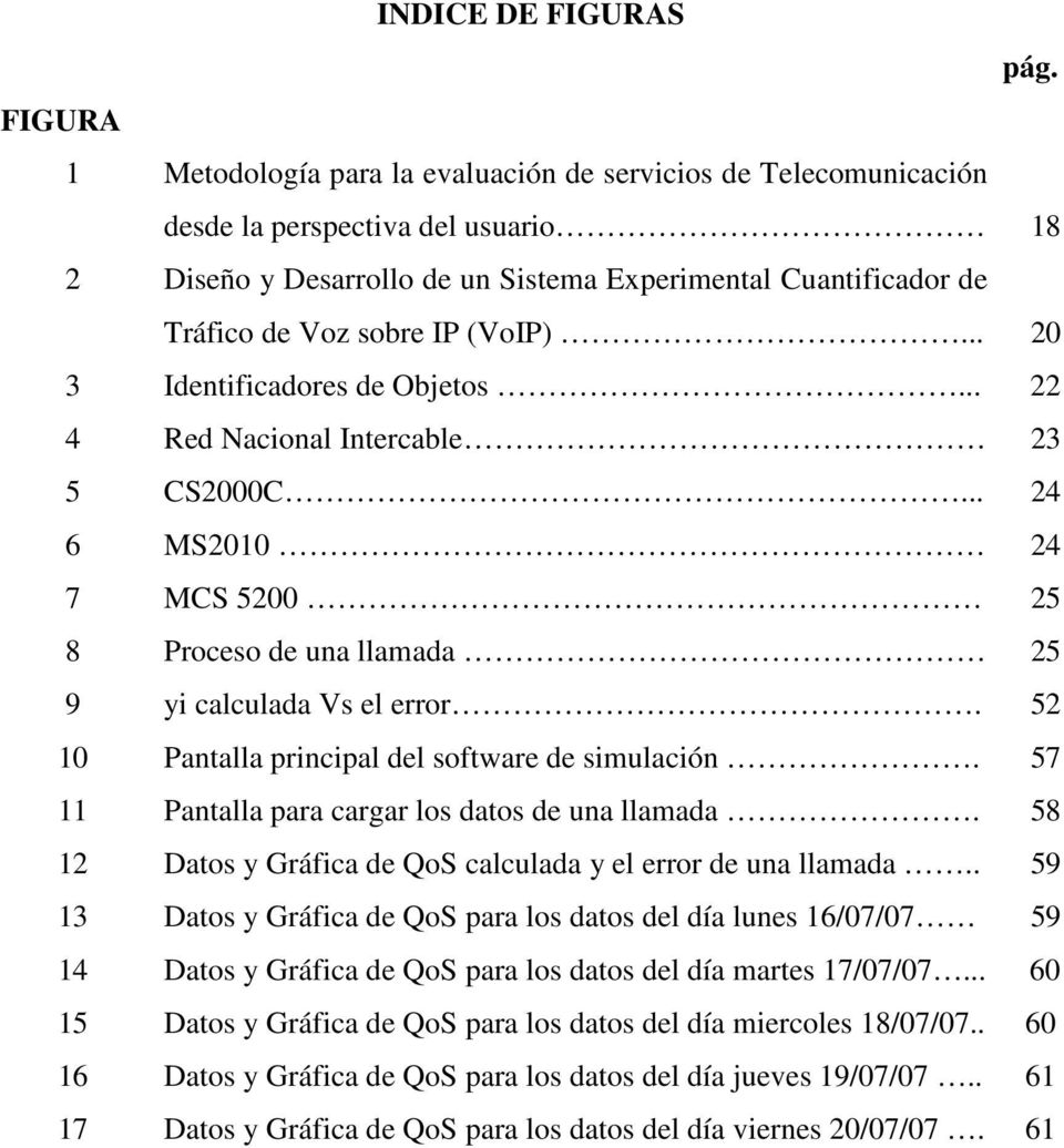 (VoIP)... 20 3 4 5 6 7 8 9 10 11 12 13 14 15 16 17 Identificadores de Objetos... Red Nacional Intercable CS2000C... MS2010 MCS 5200 Proceso de una llamada yi calculada Vs el error.