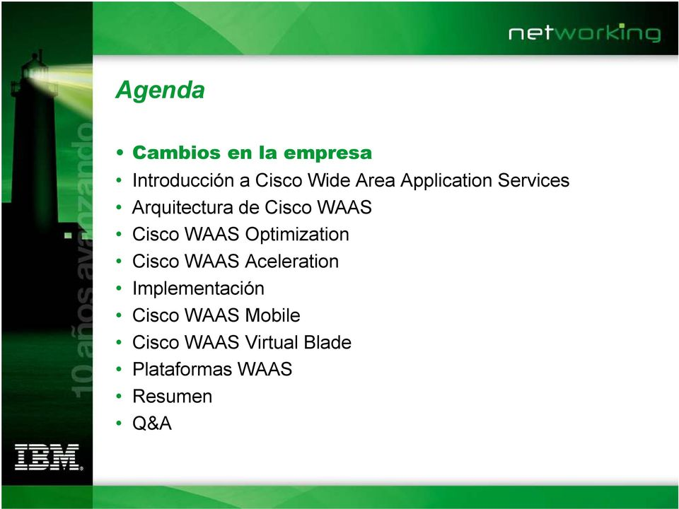 Optimization Cisco WAAS Aceleration Implementación Cisco