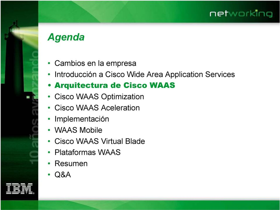 WAAS Optimization Cisco WAAS Aceleration Implementación
