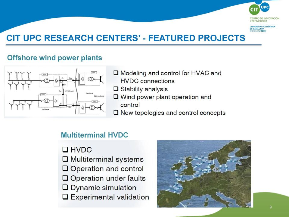 PROJECTS Offshore wind
