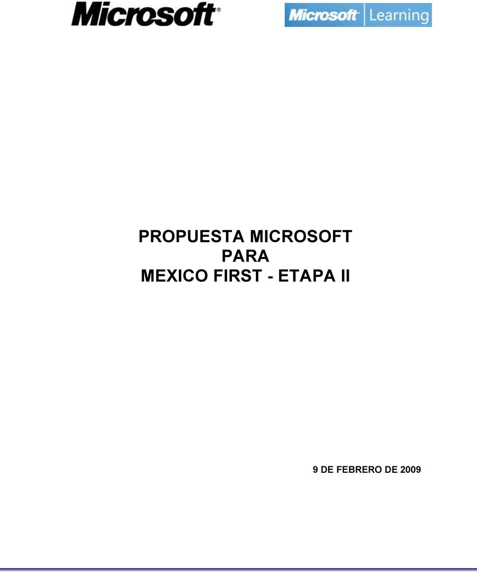 MEXICO FIRST -