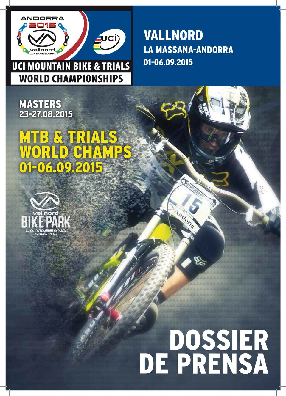 2015 MTB & TRIALS WORLD CHAMPS