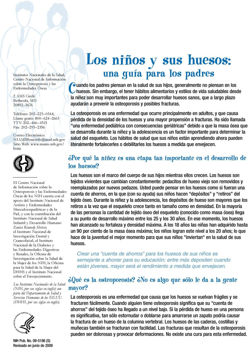gov Sitio Web: www.niams.nih.