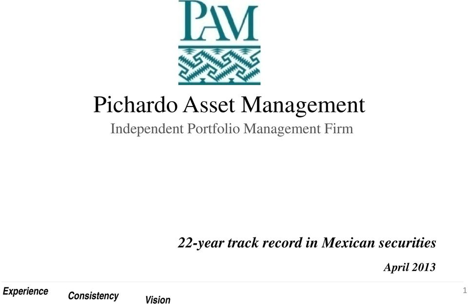 track record in Mexican securities