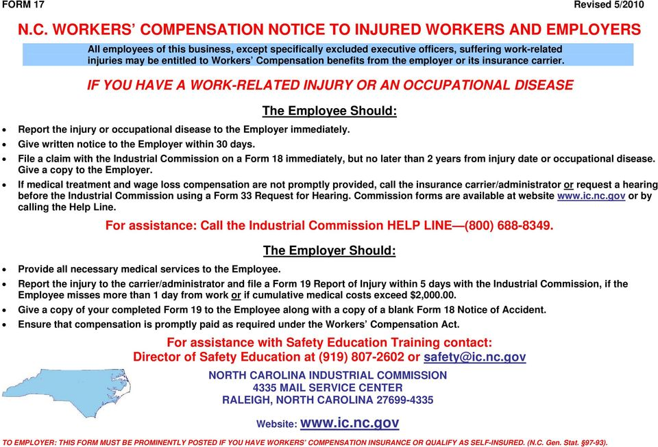Workers Compensation benefits from the employer or its insurance carrier.