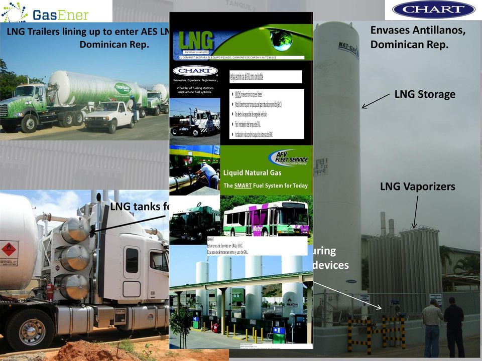 LNG Storage LNG tanks for vehicles LNG Vaporizers