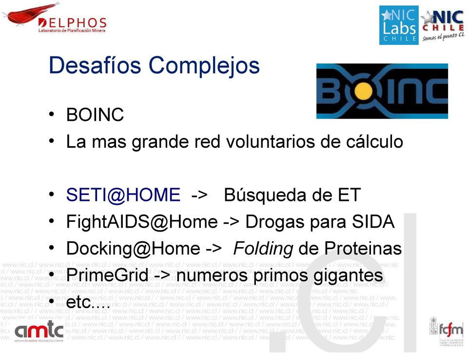 FightAIDS@Home -> Drogas para SIDA Docking@Home ->