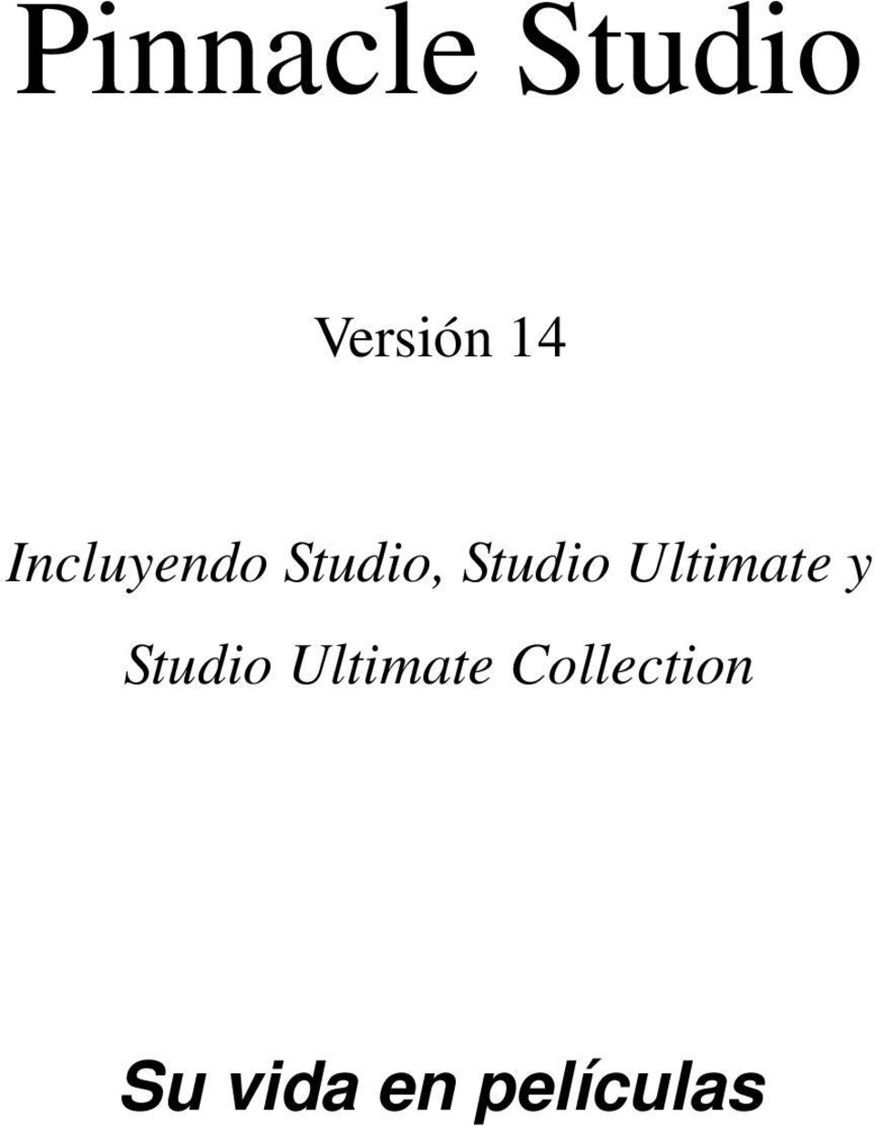 Ultimate y Studio Ultimate