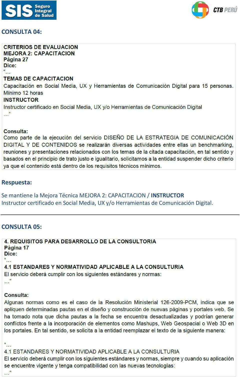 Instructor certificado en Social Media, UX