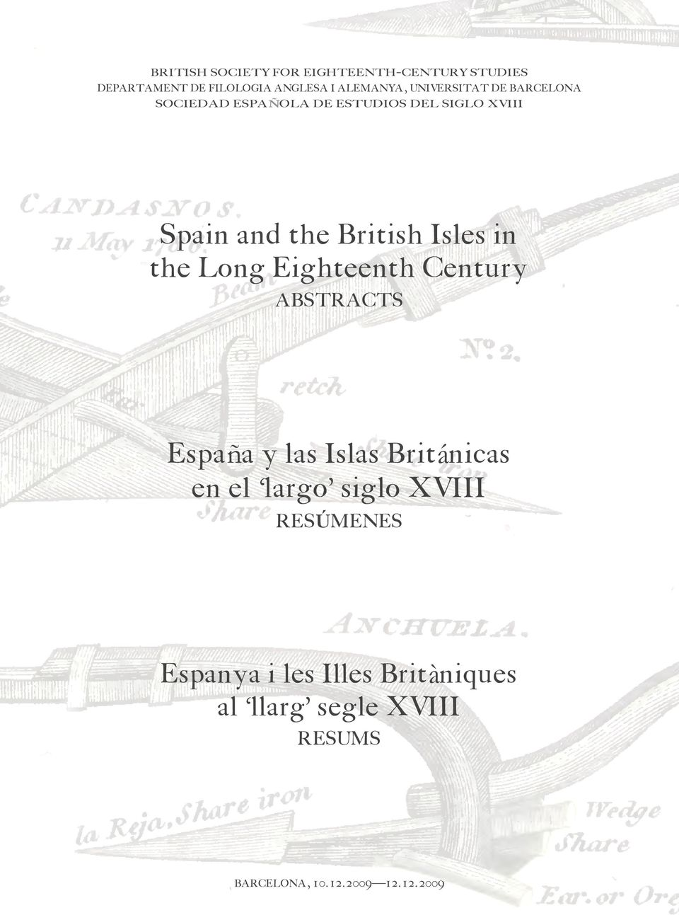 Isles in the Long Eighteenth Century ABSTRACTS España y las Islas Británicas en el largo siglo