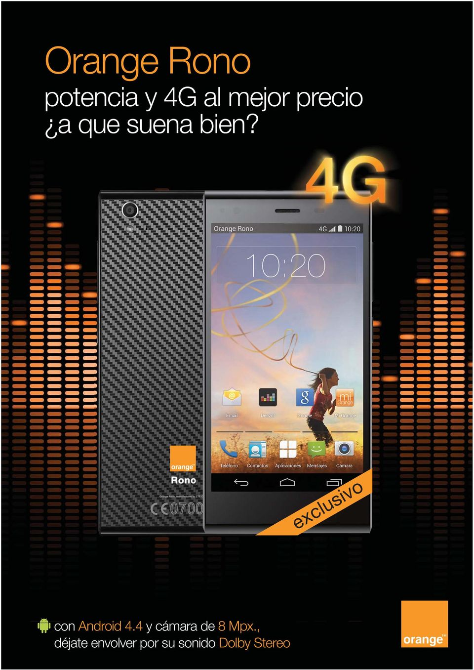 exclusivo 18 con Android 4.