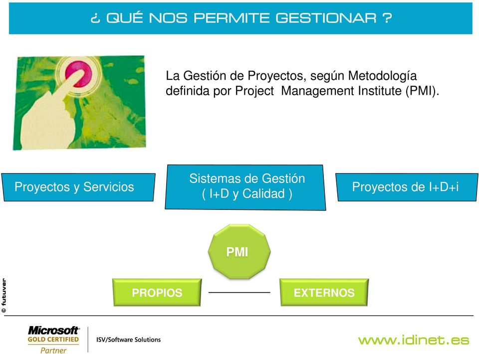 por Project Management Institute (PMI).