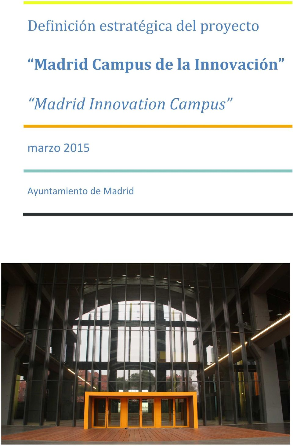 Innovación Madrid Innovation