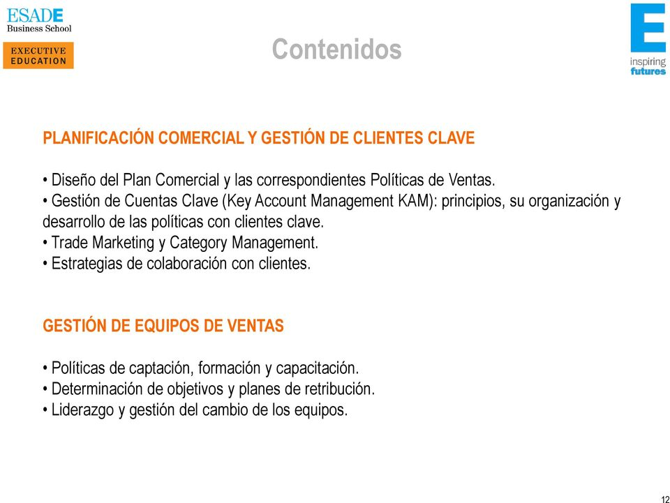 Trade Marketing y Category Management. Estrategias de colaboración con clientes.