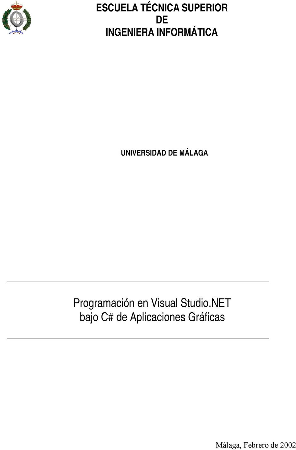 Programación en Visual Studio.