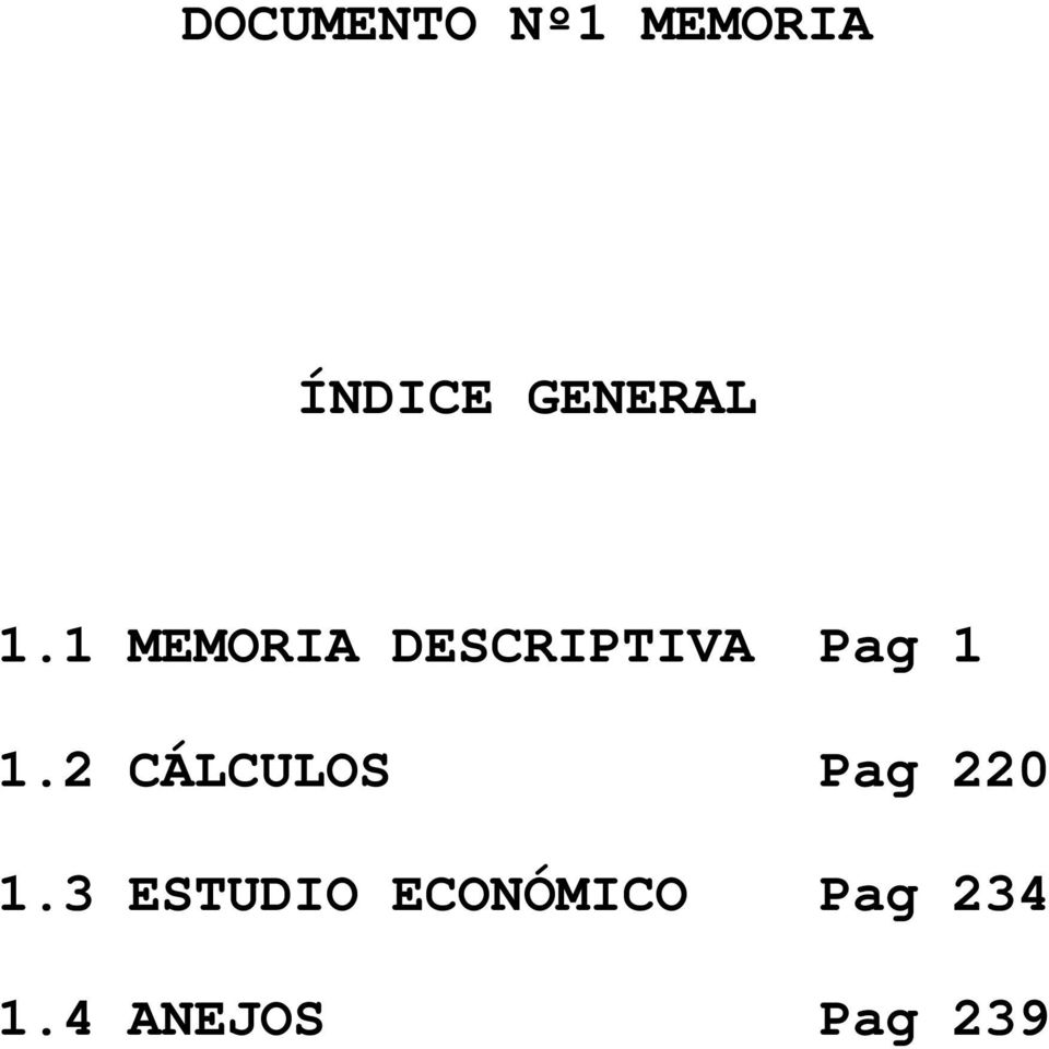 1 MEMORIA DESCRIPTIVA Pag 1 1.