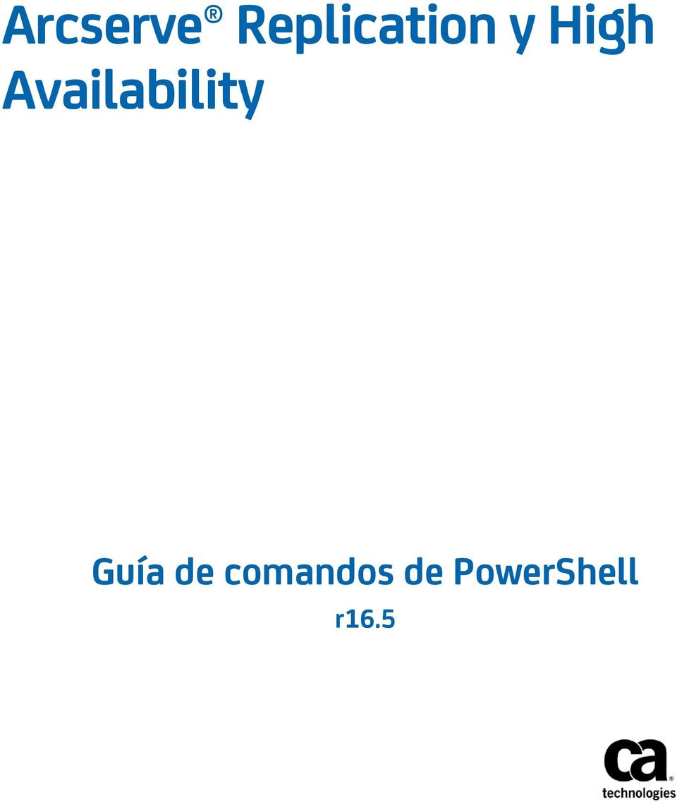 Availability Guía