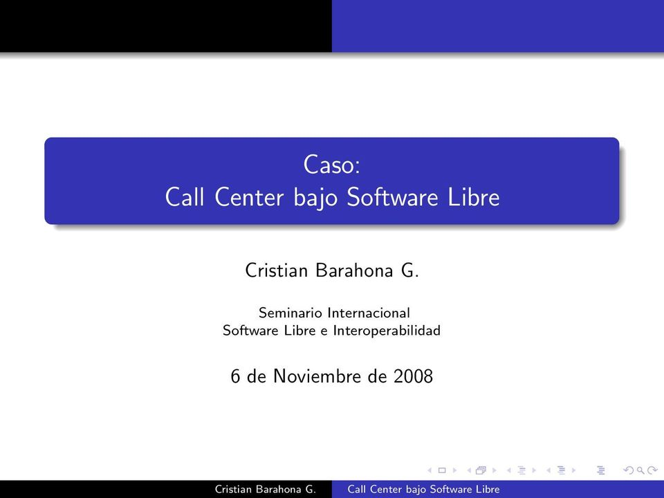 Software Libre e