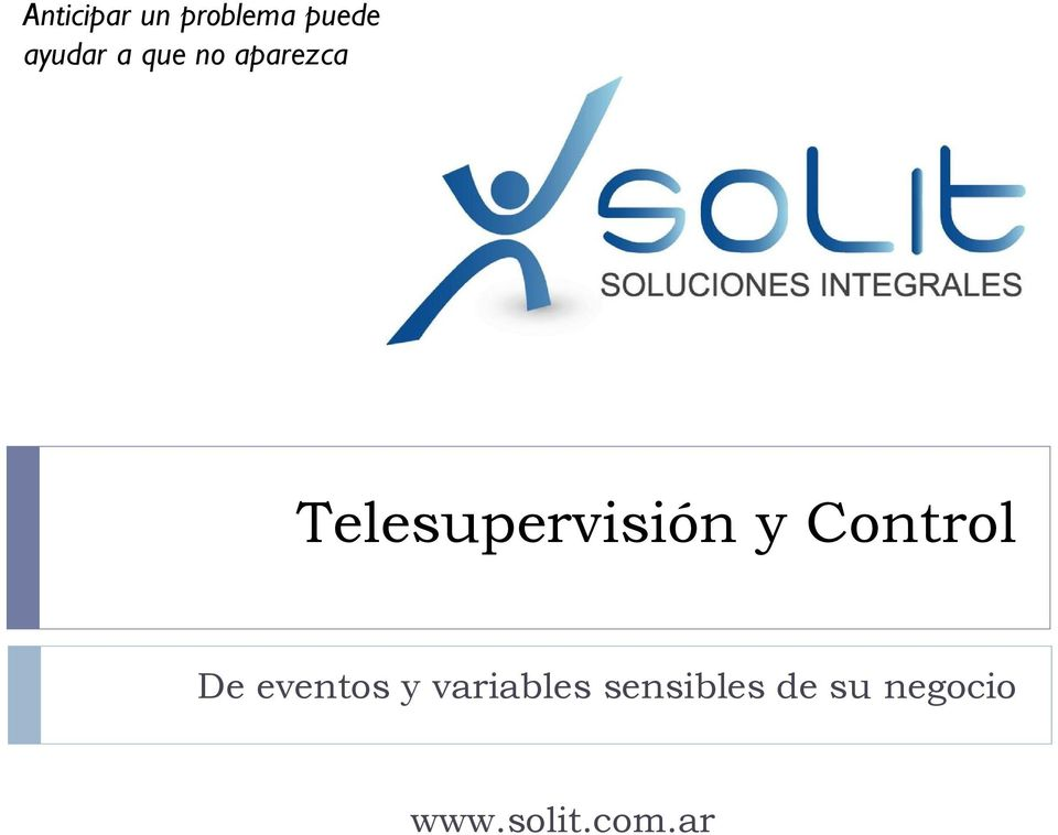 Control De eventos y variables