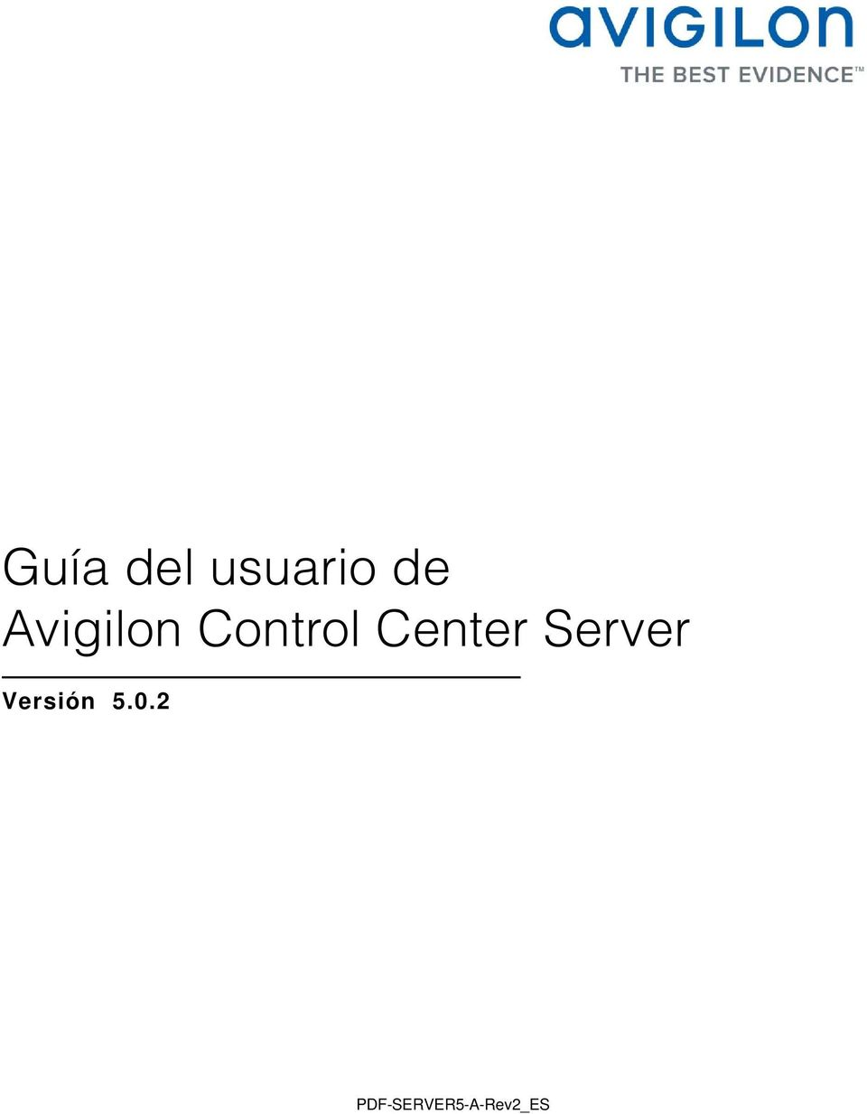 Center Server Versión