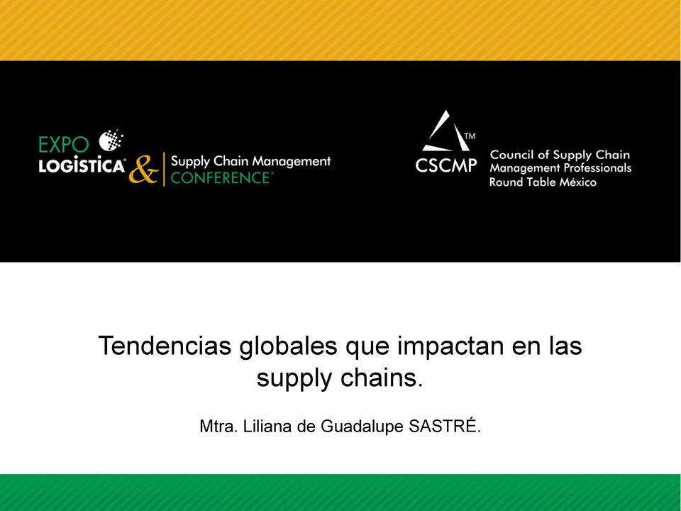 supply chains. Mtra.