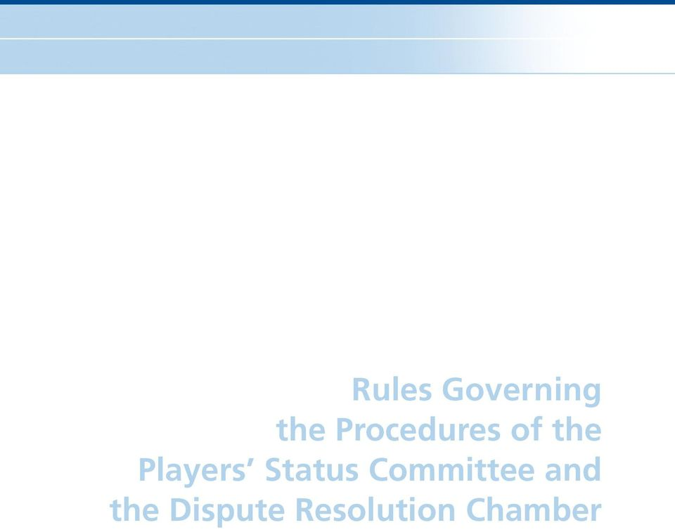 Players Status Committee