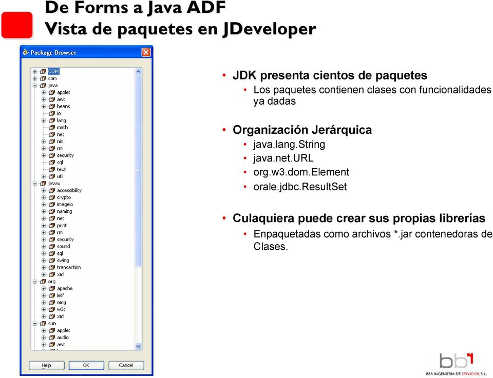 java.lang.string java.net.url org.w3.dom.element orale.jdbc.