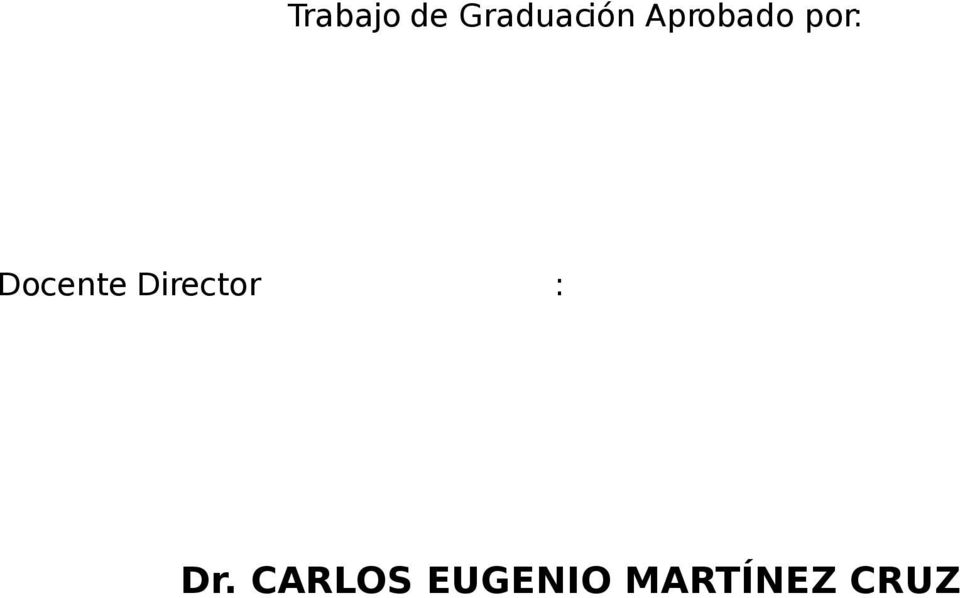 Director : Dr.