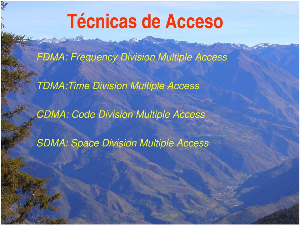 Division Multiple Access CDMA: Code