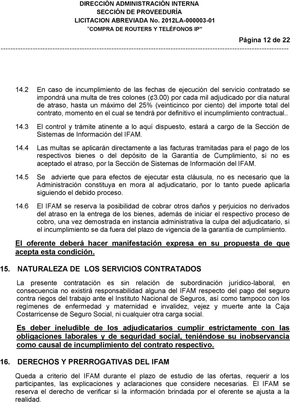 contractual.. 14.