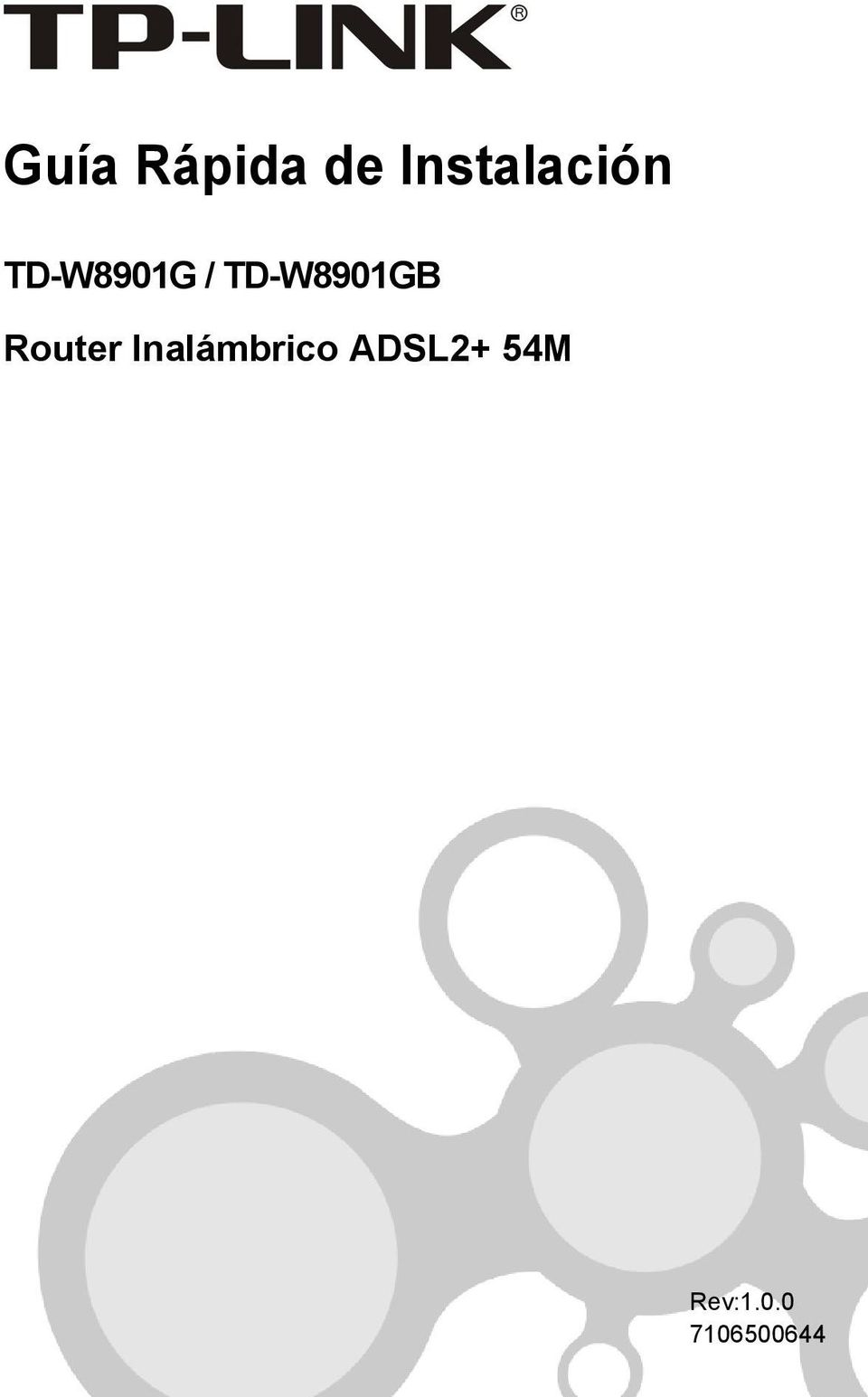 TD-W8901GB Router