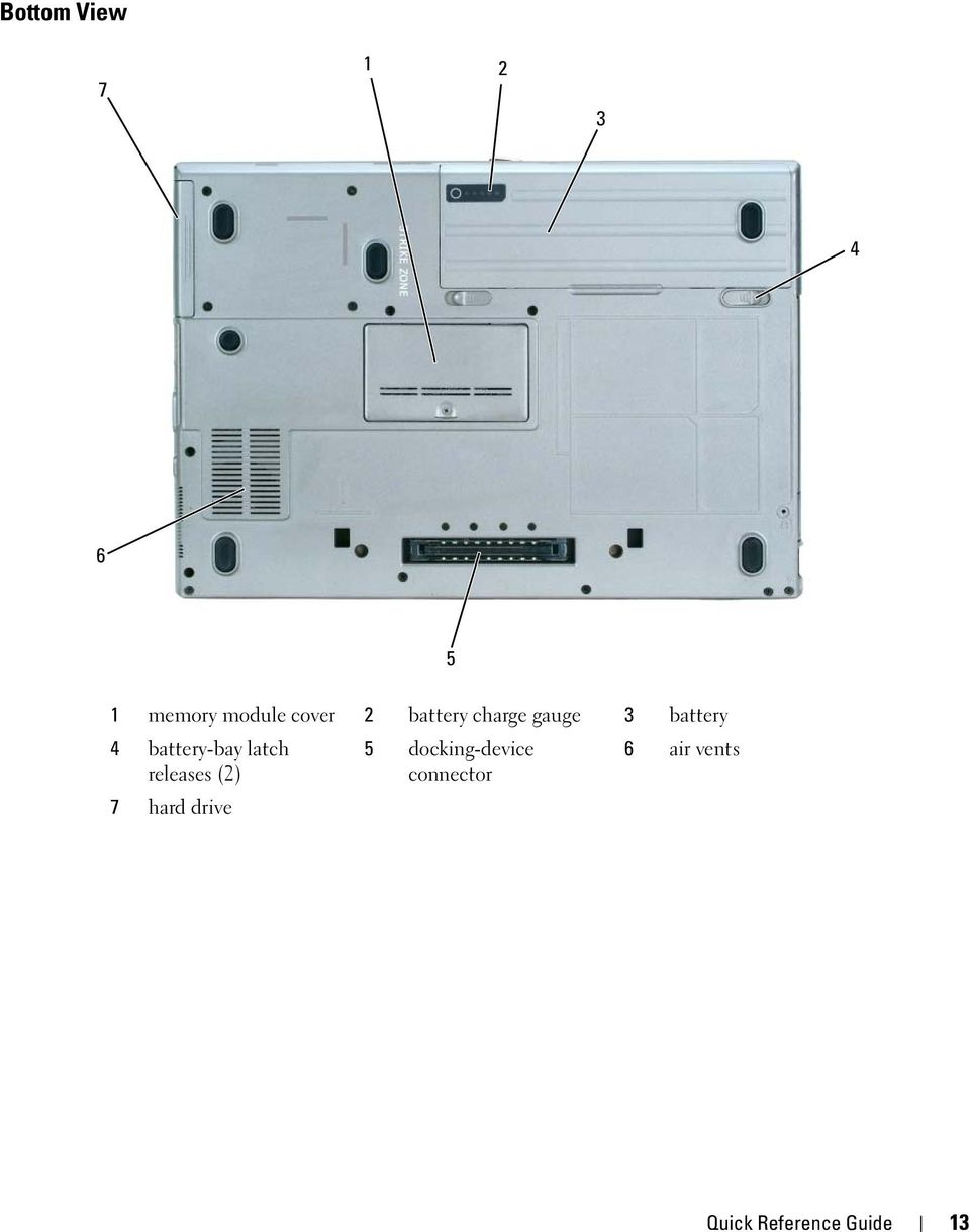latch 5 docking-device 6 air vents releases (2)