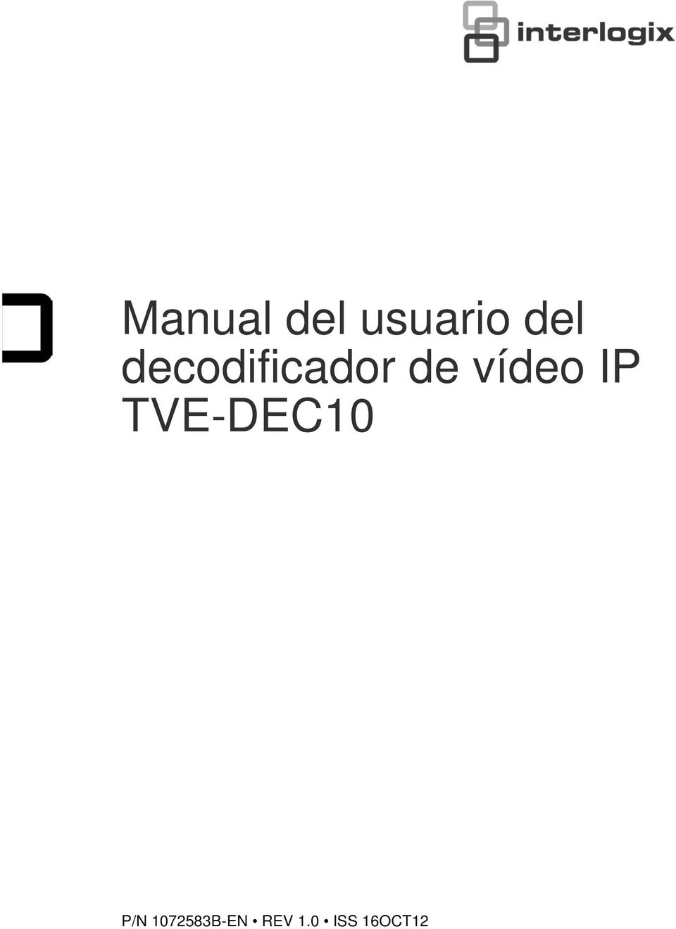 IP TVE-DEC10 P/N